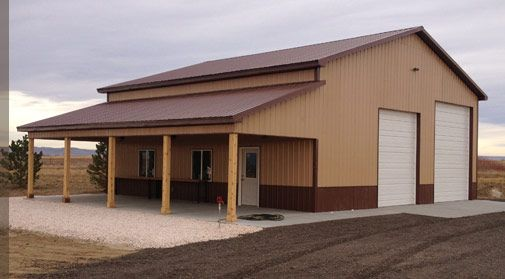Pole Barns From RLS Builders
