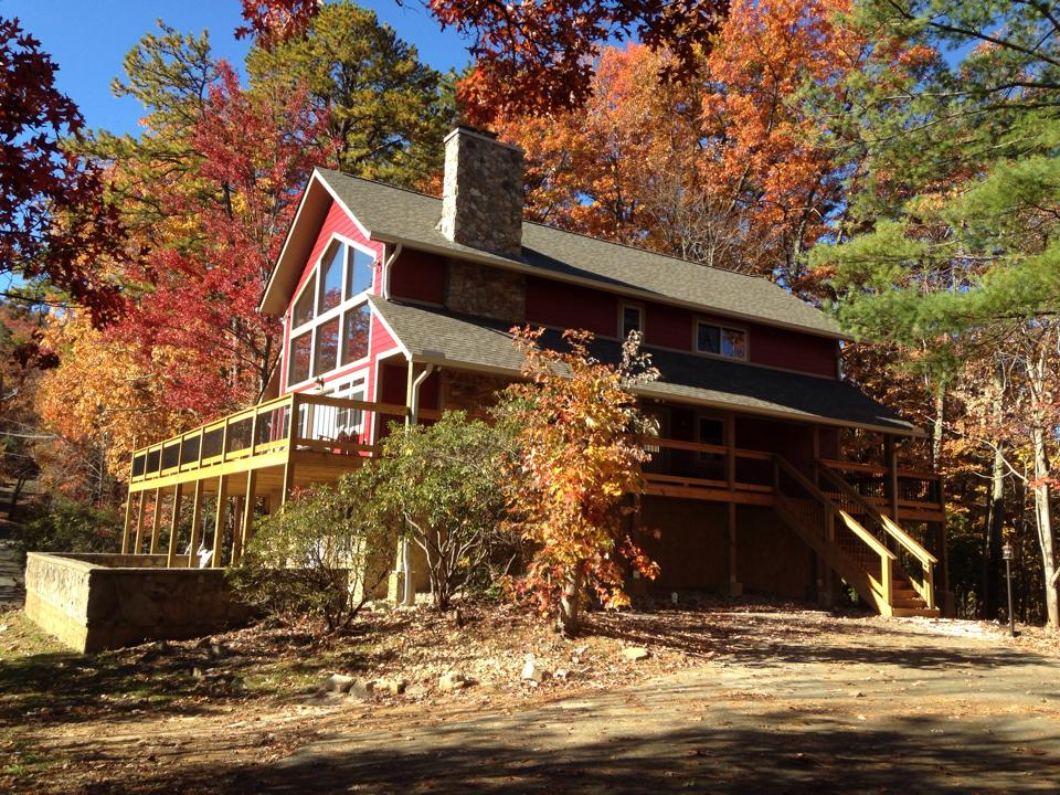 Log home builders in Sevierville TN