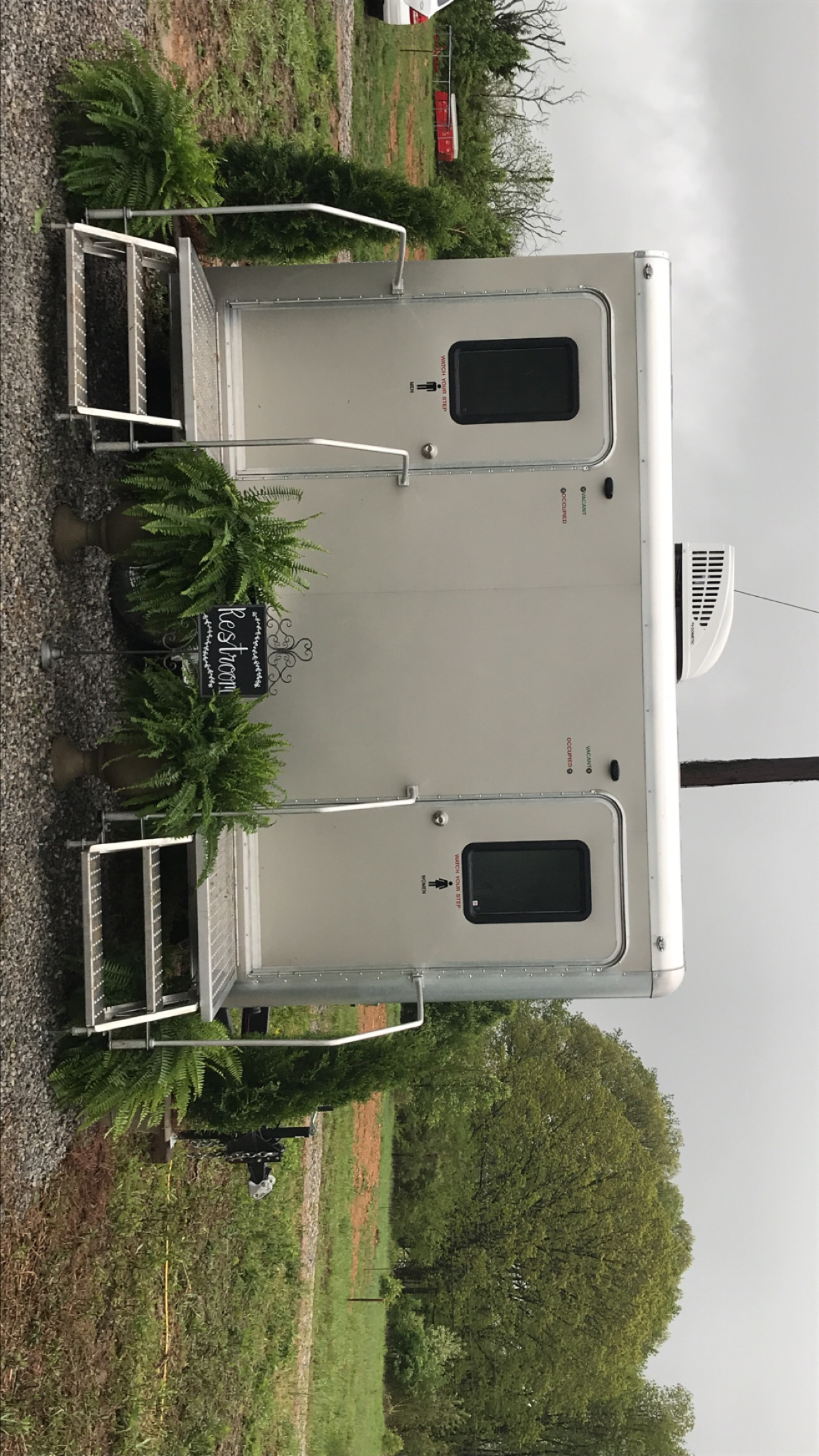 Portable restroom rentals in Nashville TN
