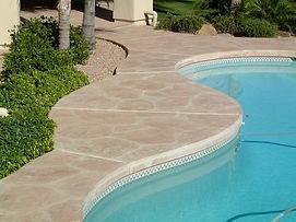 Panama City Floridia custom decorative concrete for pools