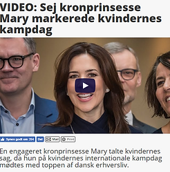 March 8 2019 - Billed Bladet - Video- Se