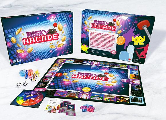 Risky Arcade board game