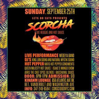 Scorcha Live Reggae and Hot Pepper