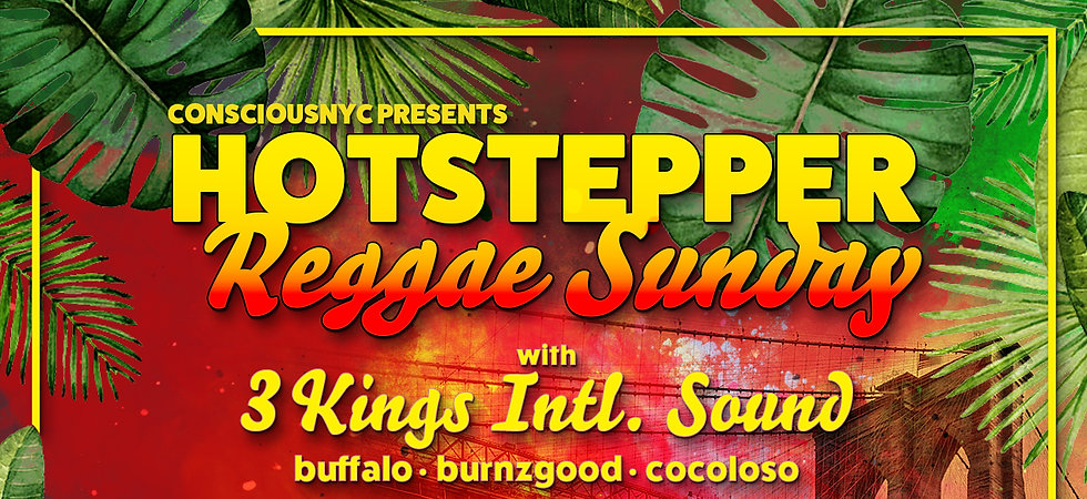 brooklyns favorite sunday chill spot for reggae and dancehall. hookahs are available in the outdoor lounge area.