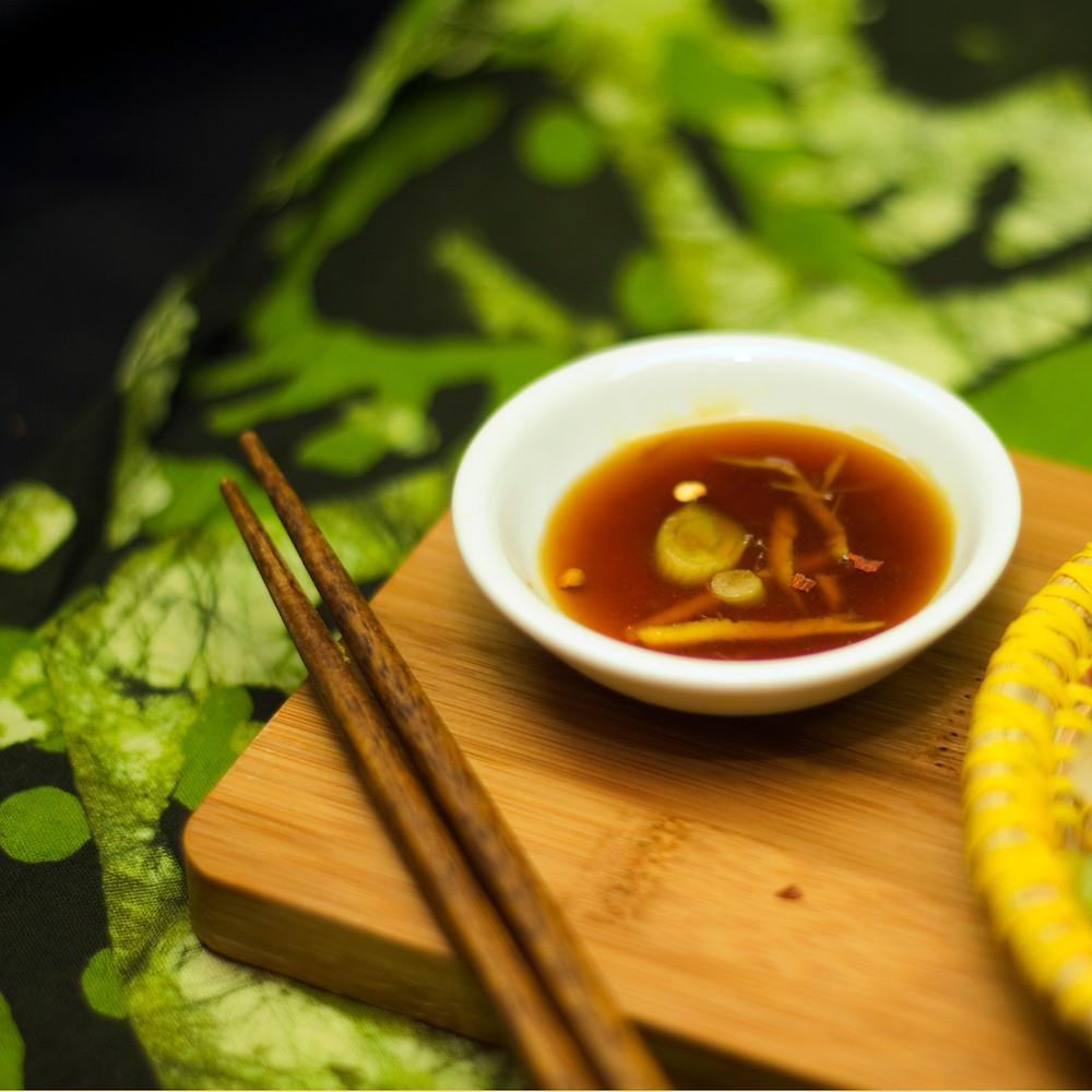 ginger lemongrass dipping sauce