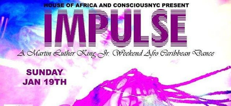 MLK Sunday Afrobeats wit Caribbean vibes