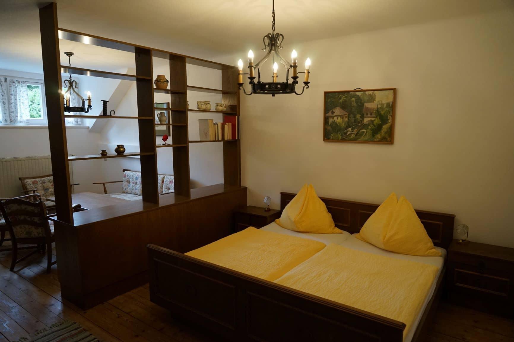 Apartment 12 - Schlafzimmer