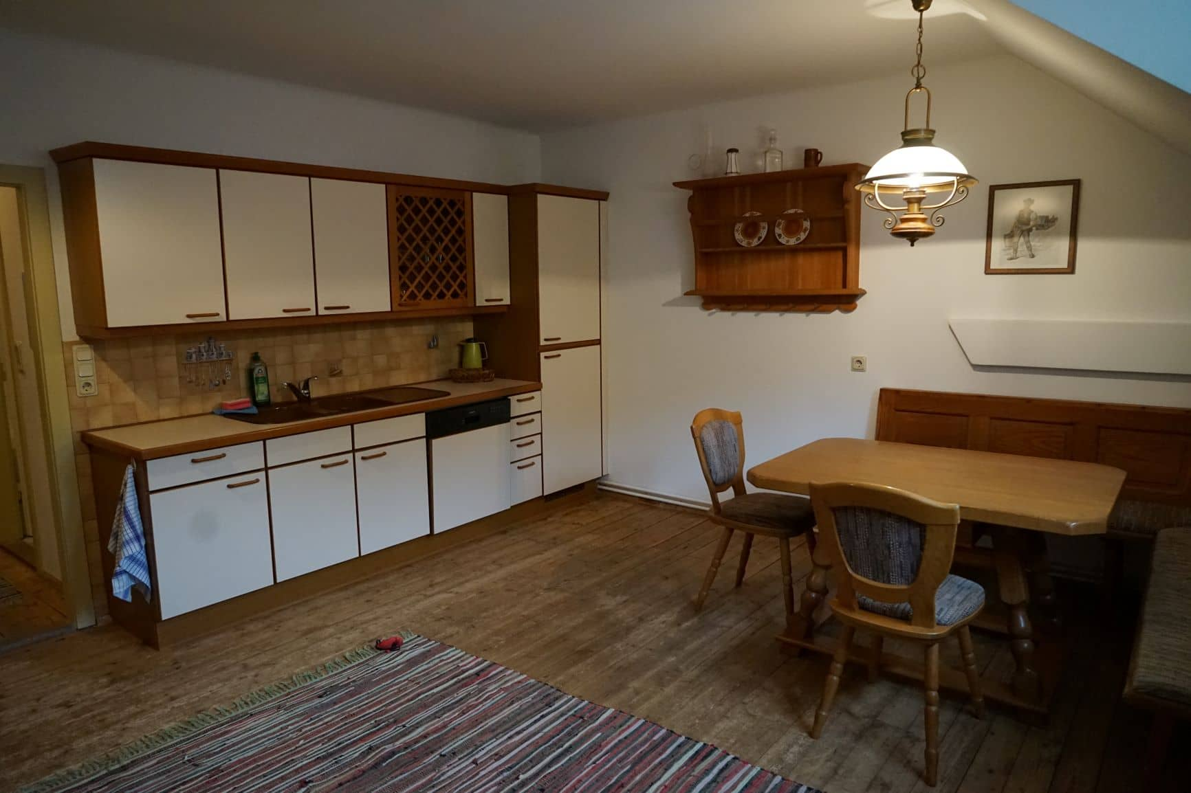 Apartment 12 - Essbereich