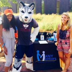 Mentor recruiting at UConn! Representing!! #UConn #Mentors in #STEM #ManyMentors