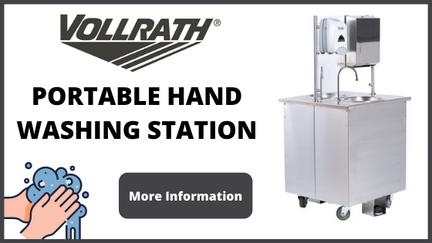 Vollrath Portable Hand Washing Station