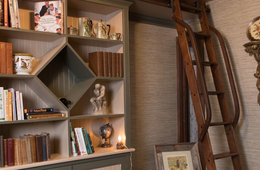 Test Kitchen Book Shelf