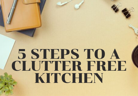 5 Steps for a Clutter Free Kitchen