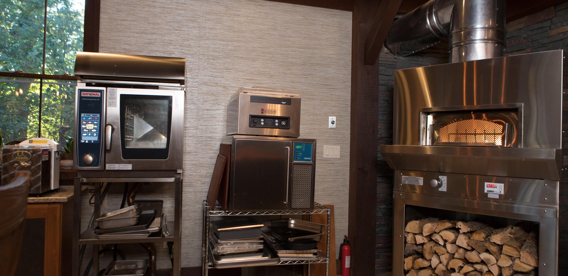 Rational Combi Oven & Wood Stone Oven