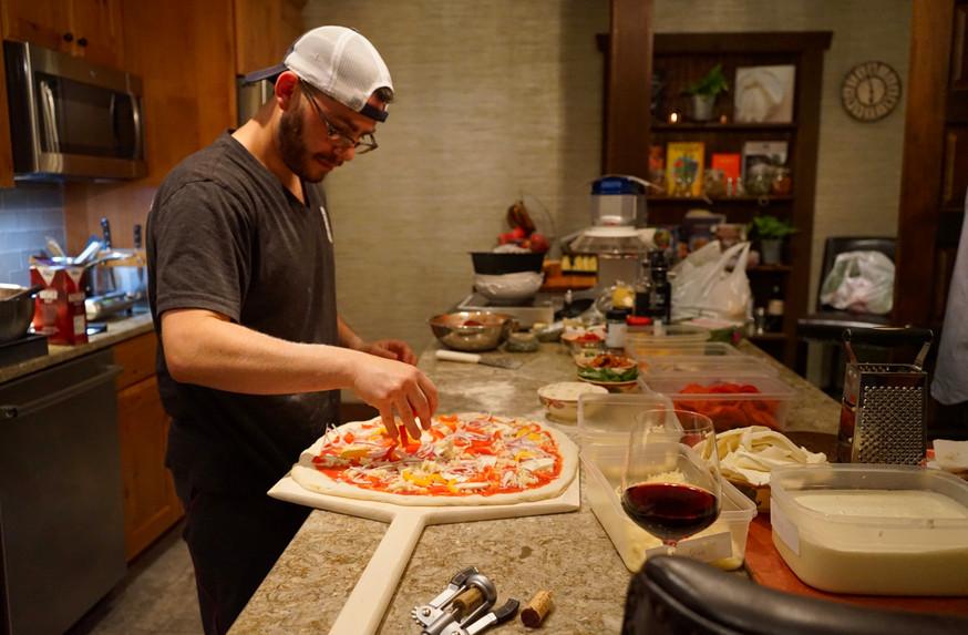 Chef Pizza Prep