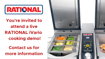 Join us for a RATIONAL Cooking Live Demo