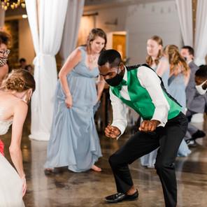 The Bride & Groom Dance off