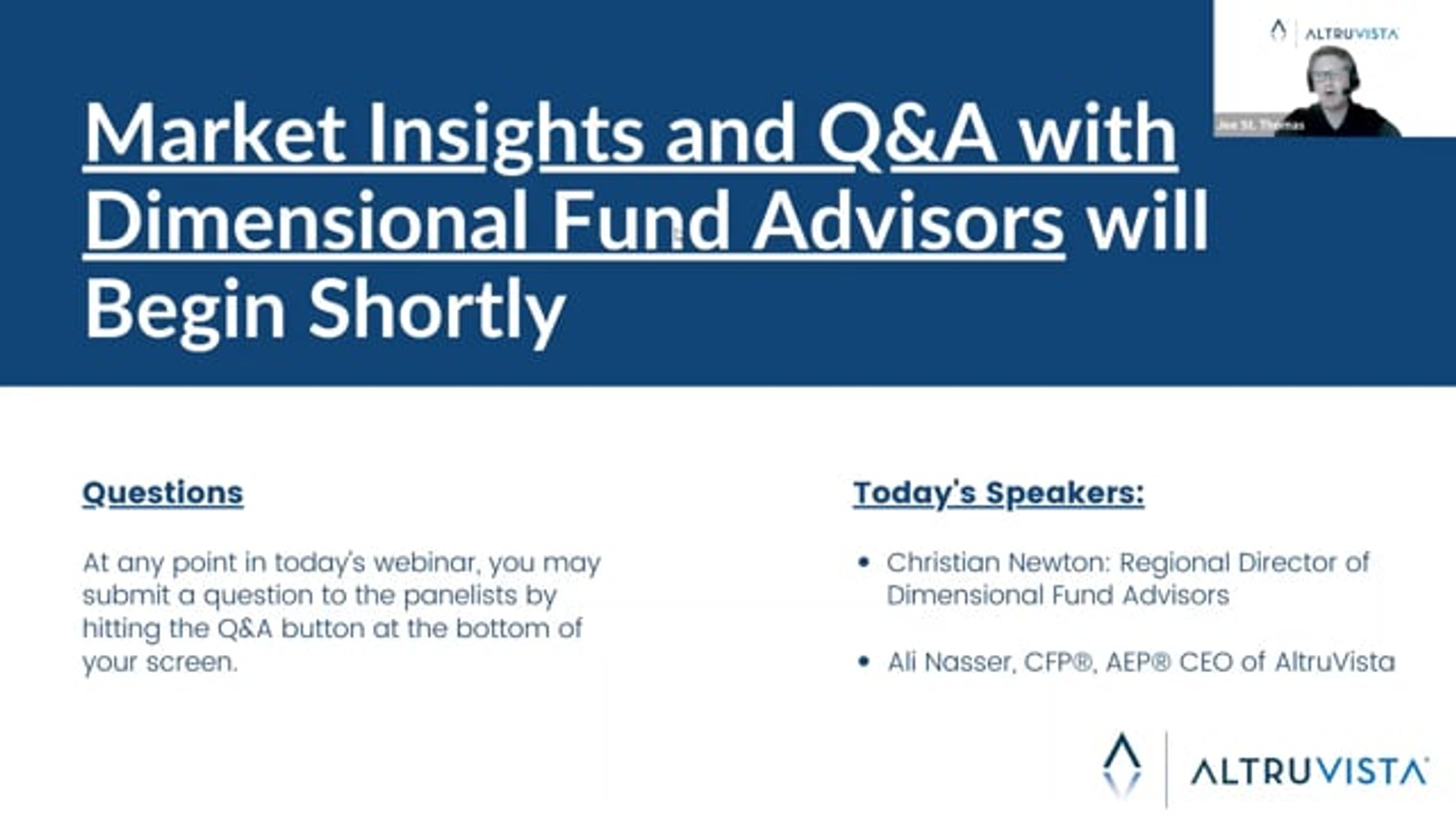 Market Insights and Q&A with Dimensional Fund Advisors
