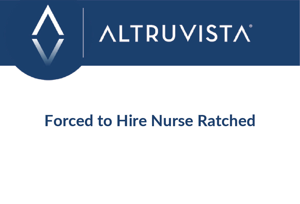 Forced to Hire Nurse Ratched