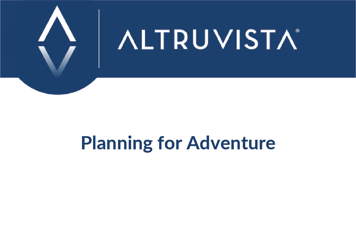 Planning for Adventure
