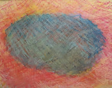 oil pastel, abstract image