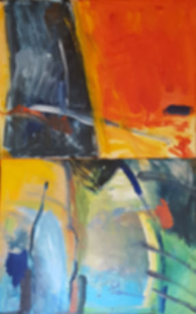 abstract painting, female artist
