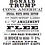 Thumbnail: 4 Trump Artcards -black & white