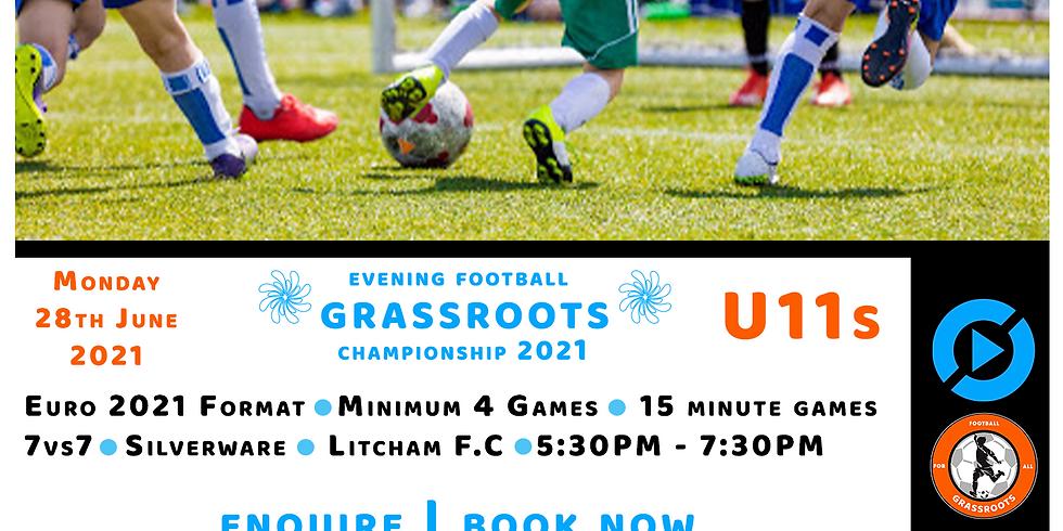 U11's Grassroots Football Championship | Euro 2021 | 7vs7 (1)
