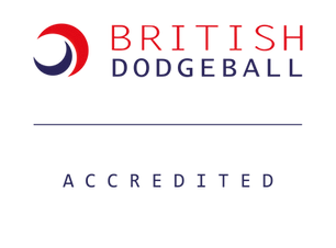 British Dodgeball Accredited Coach Logo