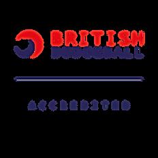 British Dodgeball Accredited Coach Logo