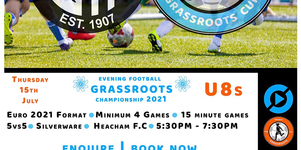 U8s Grassroots Football Championship   Euro 2021   5vs5