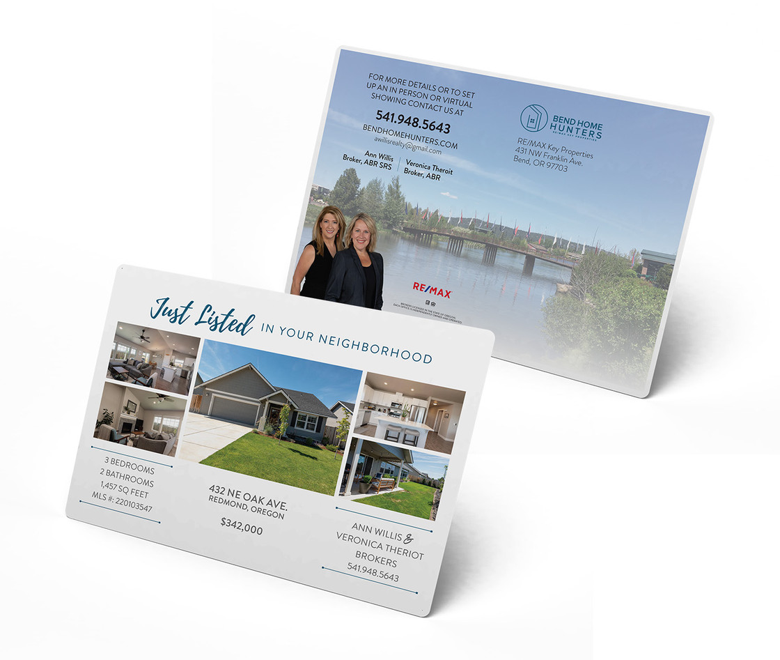 JUST LISTED MAILERS