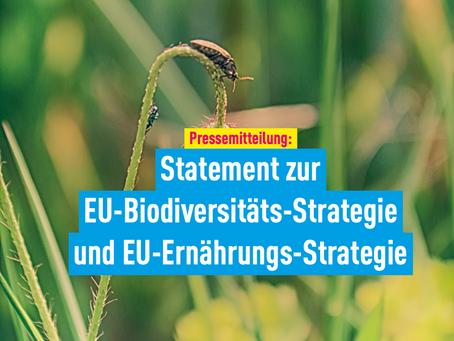 Pressemitteilung: Statement zur EU-Biodiversitäts-Strategie und EU-Ernährungs-Strategie