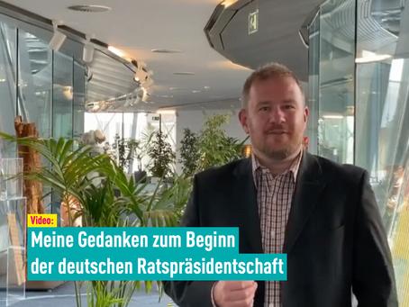 Video: Meine Gedanken zum Beginn der deutschen Ratspräsidentschaft