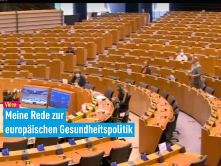 Video: Meine Rede zur europäischen Gesundheitspolitik