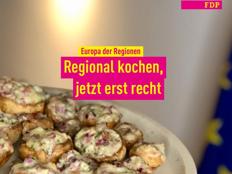 Europa der Regionen: Regional kochen, jetzt erst recht