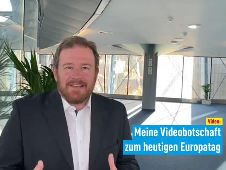 Video: Meine Videobotschaft zum heutigen Europatag
