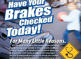 Brake Service, Inspection & Repair