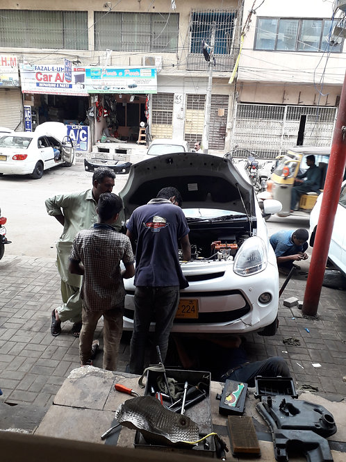 Carbon and catalytic converter cleaning service