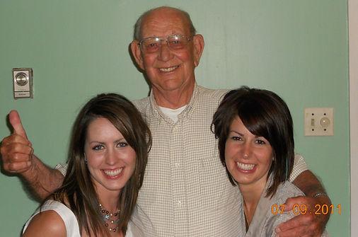 Grandpa Bob, the reason behind the name Blackbird.