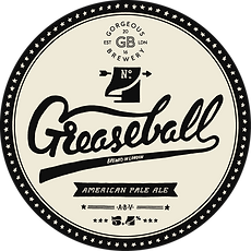 Greaseball, APA beer label by Gorgeous brewery