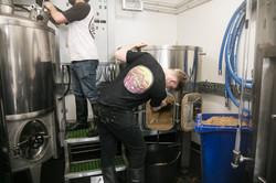 Gorgeous Brewery mash tun