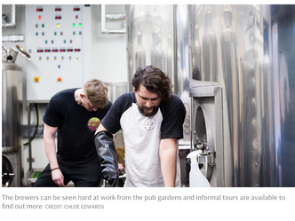 """""""GORGEOUS BREWERY STAYS TRUE TO ITS NAME AND IS A WONDERFUL ADDITION TO LONDON'S BEER AND B"""