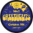 Greedyguts, Golden Ale beer label by Gorgeous brewery