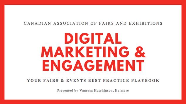 Digital Marketing Engagement (May 13, 2020)