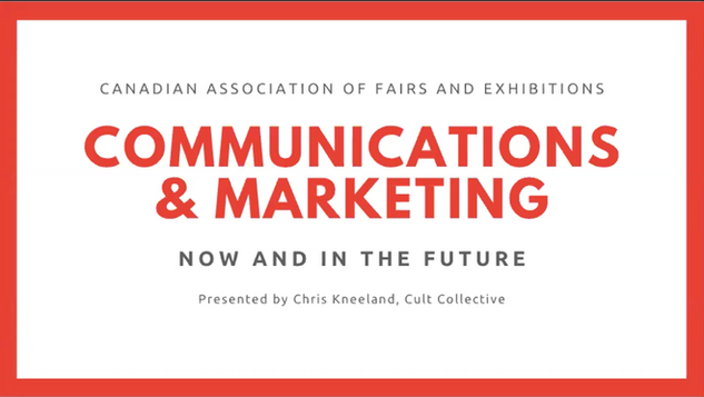 Communications & Marketing (May 6, 2020)