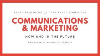 Communications & Marketing (May 6, 2020)