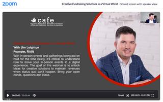 Creative Virtual Solutions for a Virtual World (April 15)