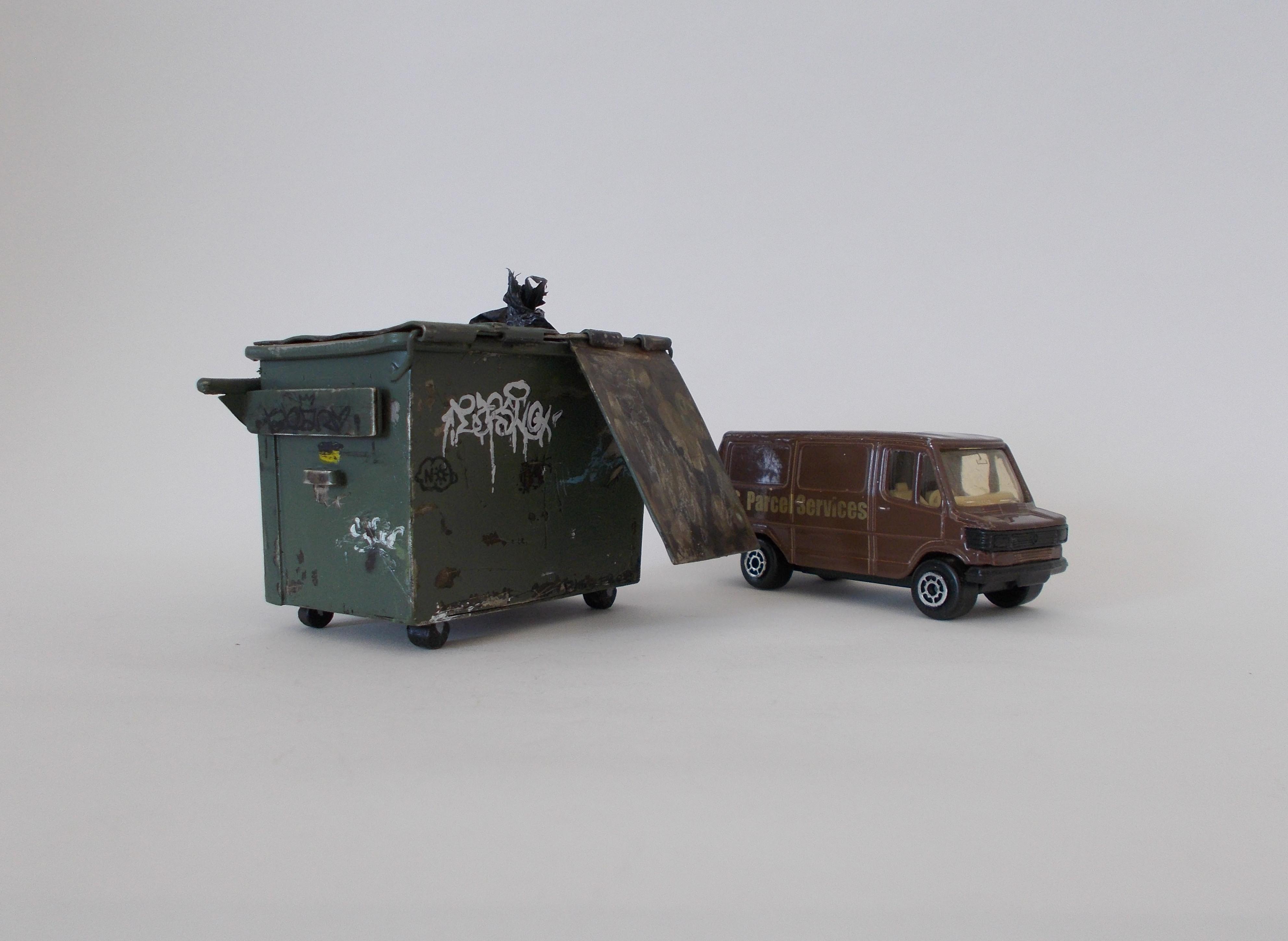 Self Portrait as a Dumpster *SCALE