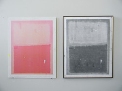 Mark Rothko Drawing - scale/context