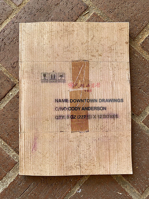 Downtown Drawings Book